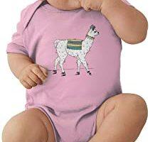 body bebe rosa con alpaca