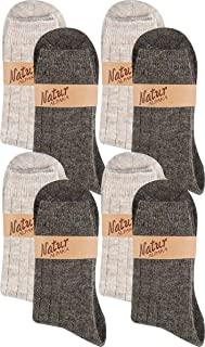 calcetines y medias de hombre con lana de alpaca y merino