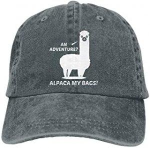 gorra sport gris de alpaca