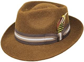 sombrero de hombre con lana de alpaca