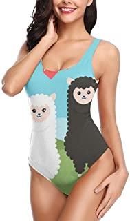Traje de baño con alpacas para mujer